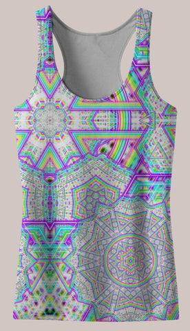 Enon : Womens // HELIOS TANK TOP - Tetramode® | Psy Styles. Men & Womens Psychedelic Tops & Bottoms