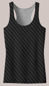 Carbon : Womens // HELIOS TANK TOP - Tetramode® | Psy Styles. Men & Womens Psychedelic Tops & Bottoms