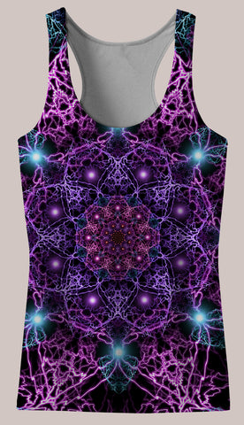 Nucleus : Womens // HELIOS TANK TOP - Tetramode® | Psy Styles. Men & Womens Psychedelic Tops & Bottoms