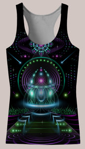 Vibe Amplifier : Womens // HELIOS TANK TOP - Tetramode® | Psy Styles. Men & Womens Psychedelic Tops & Bottoms