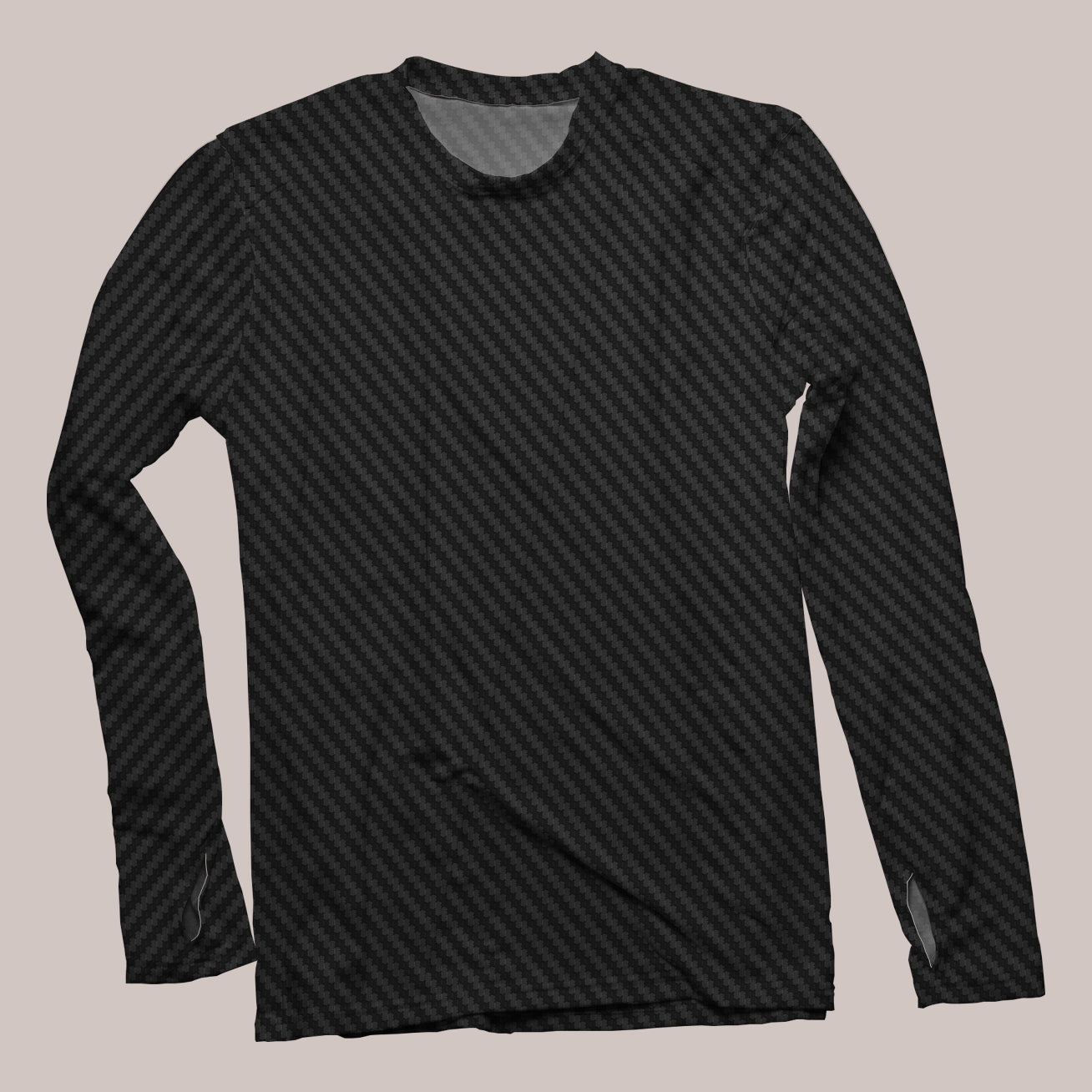 Carbon Men's Flux Long Sleeve Shirt - Tetramode® | Psy Styles. Men & Womens Psychedelic Tops & Bottoms