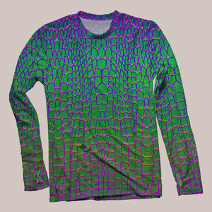 Reptilian Men's Flux Long Sleeve Shirt