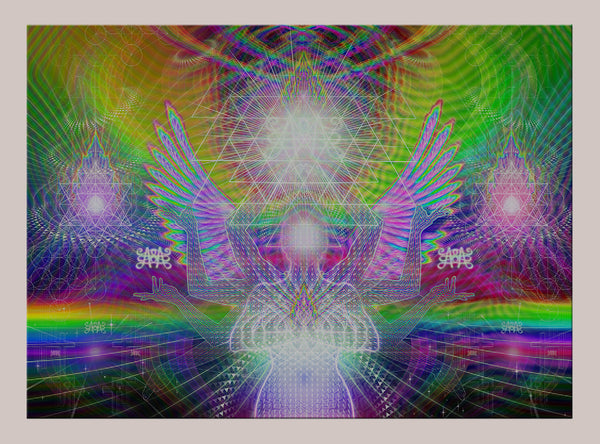 Seat of the Soul Lenticular Print - LIMITED EDITION