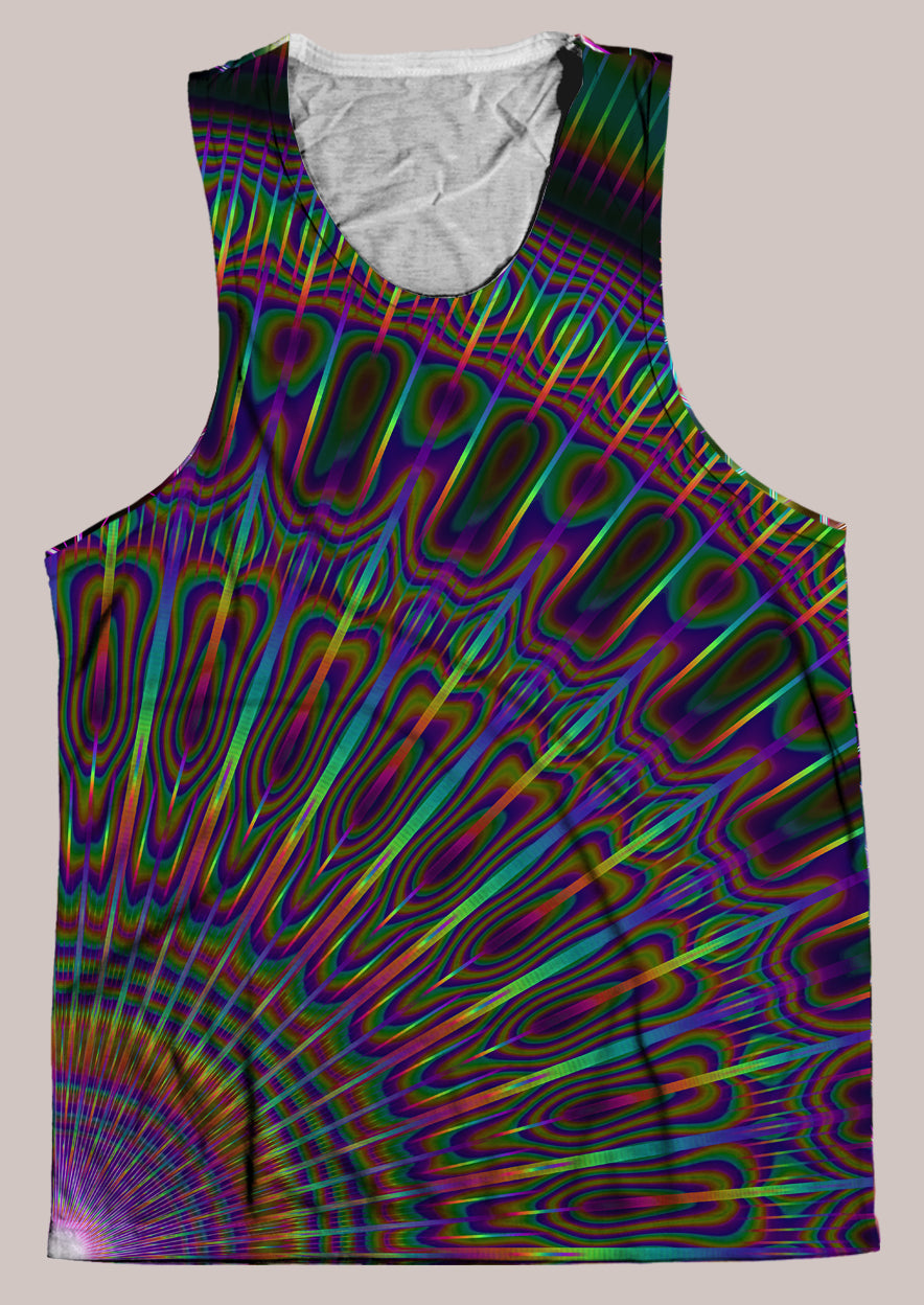 Radiance : Mens // HELIOS TANK TOP - Tetramode® | Psy Styles. Men & Womens Psychedelic Tops & Bottoms
