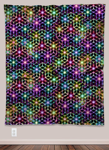 2CB Psychedelic UV-Reactive Tapestry (50x60in)