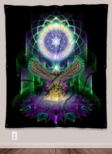 Owlchemy UV-Reactive Tapestry (50x60in)