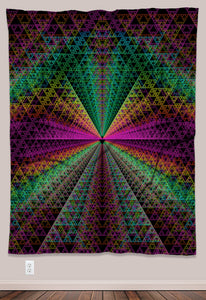 Spectra Psychedelic UV-Reactive Tapestry (60x80in)