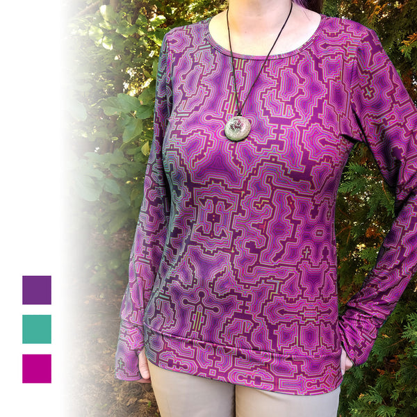 Shamanic Technology Women's Long Sleeve Shirt - FREE SHIPPING!