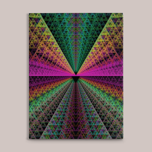 Spectra Fine Art Canvas Print - Tetramode® | Psy Styles. Men & Womens Psychedelic Tops & Bottoms