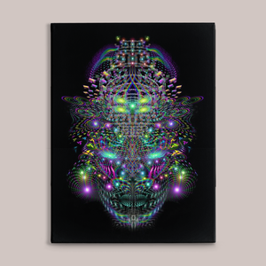 Huachamama Fine Art Canvas Print - Tetramode® | Psy Styles. Men & Womens Psychedelic Tops & Bottoms