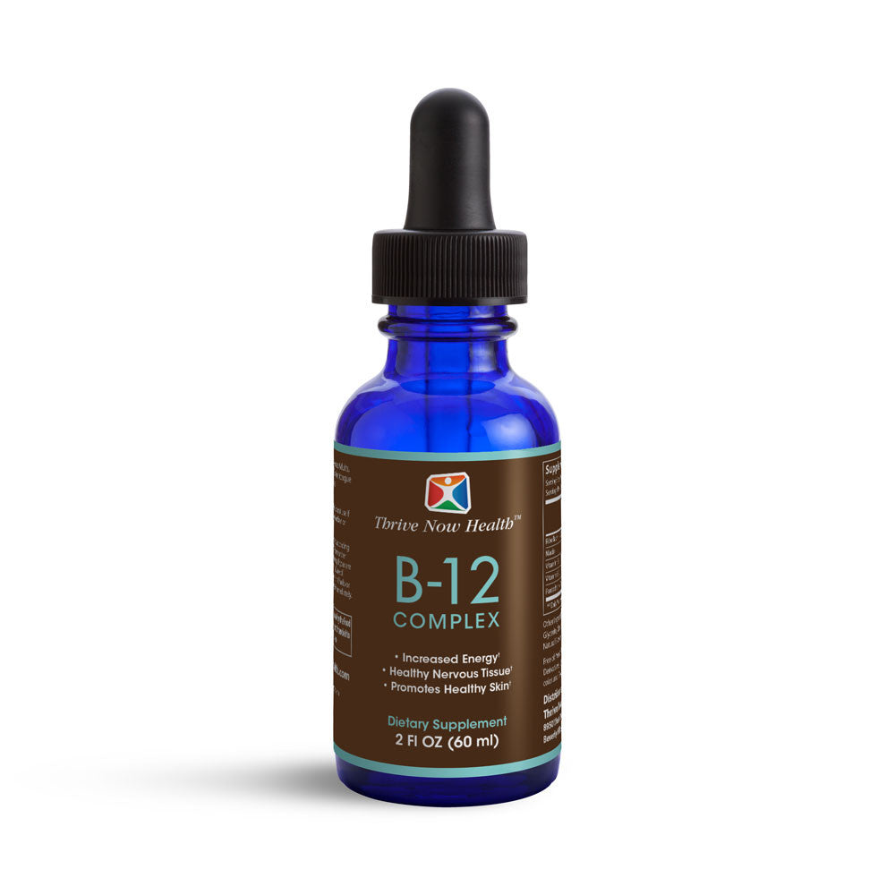 Vitamin B12 Complex Liquid, Faster Absorption, 2 fluid ounces