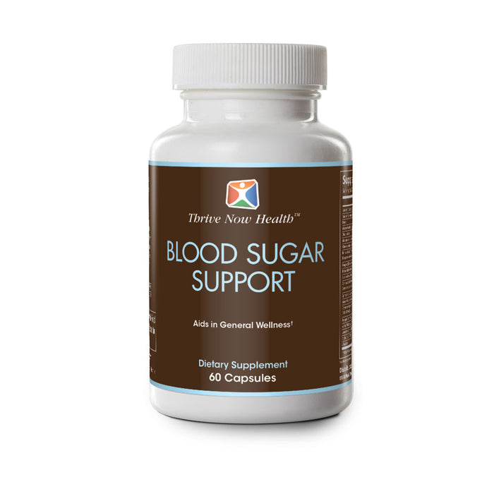 Blood Sugar Support, Helps Support Healthy Blood Glucose Levels, 60 capsules