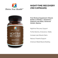 Night-Time Recovery (150 Capsules) Post Workout Supplement