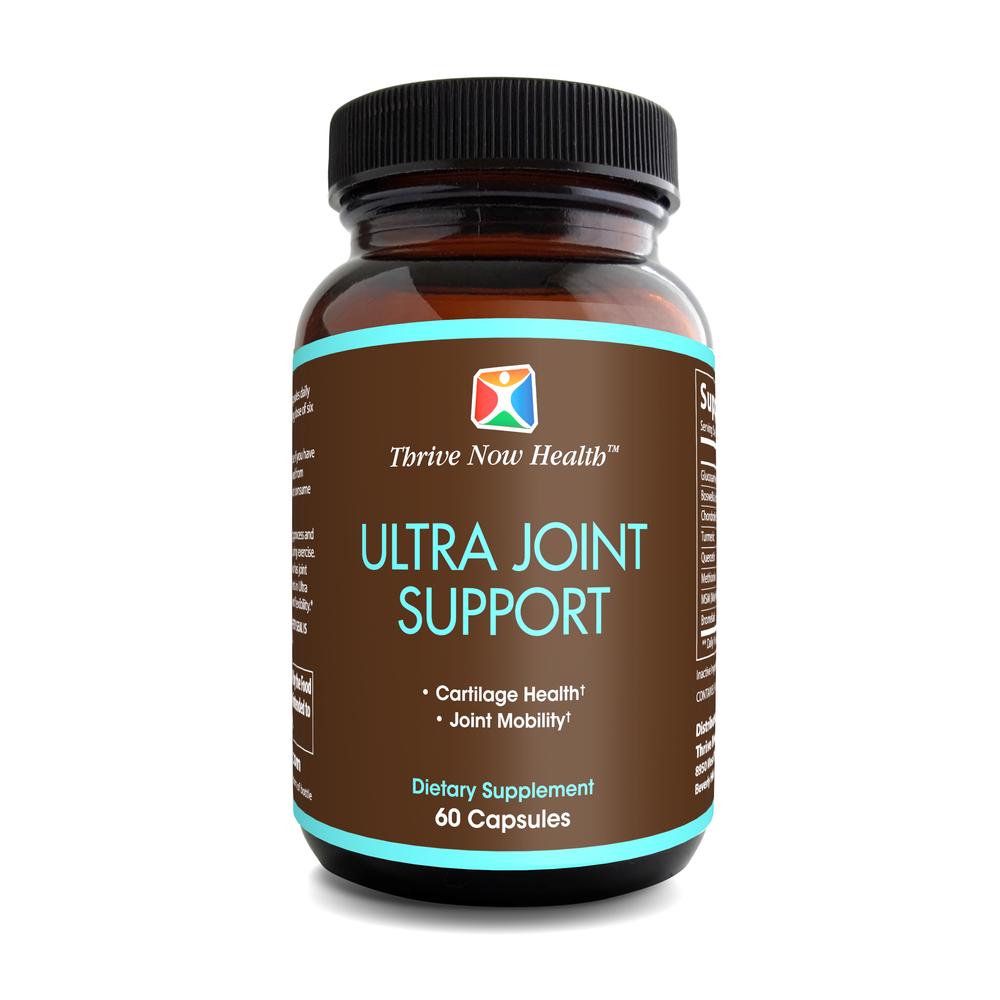 Ultra Joint Support, Helps Relieve Pain, Improve Mobility & Flexibility, 60 capsules.