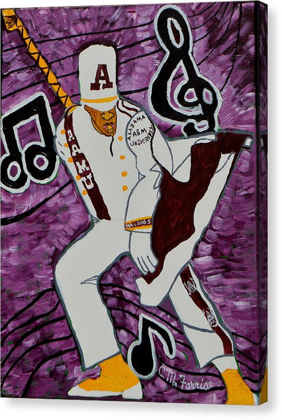 Aamu Drum Major - Canvas Print
