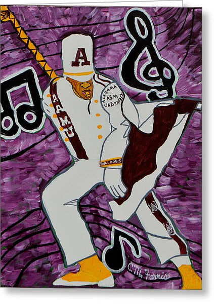 Aamu Drum Major - Greeting Card