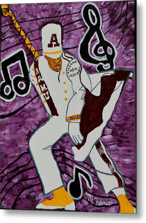 Aamu Drum Major - Metal Print
