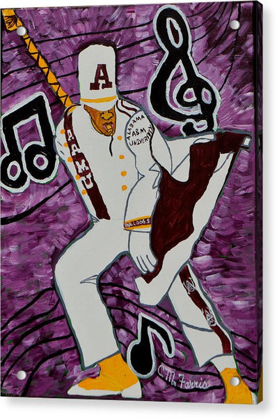 Aamu Drum Major - Acrylic Print