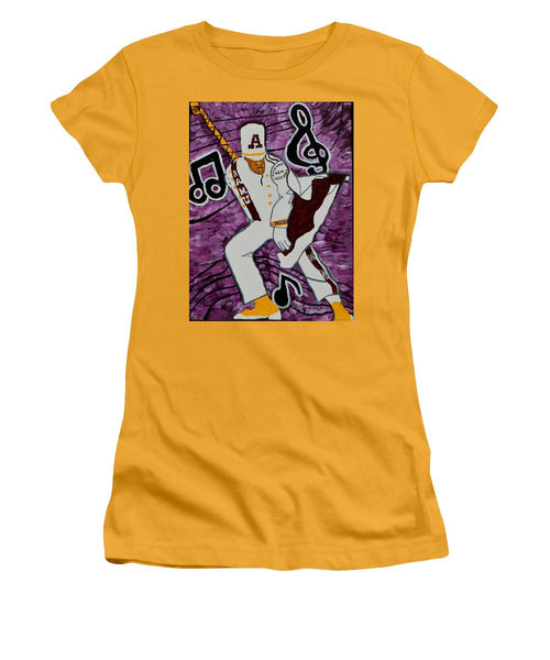 Aamu Drum Major - Women's T-Shirt (Junior Cut)