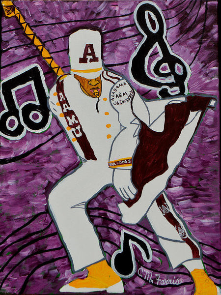 Aamu Drum Major - Art Print