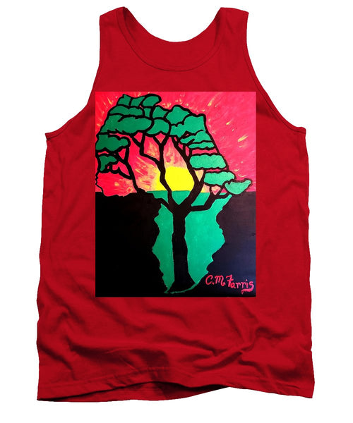 African Sunset  - Tank Top