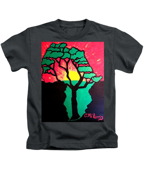 African Sunset  - Kids T-Shirt