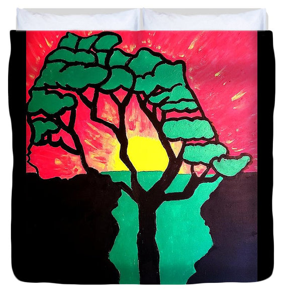 African Sunset  - Duvet Cover