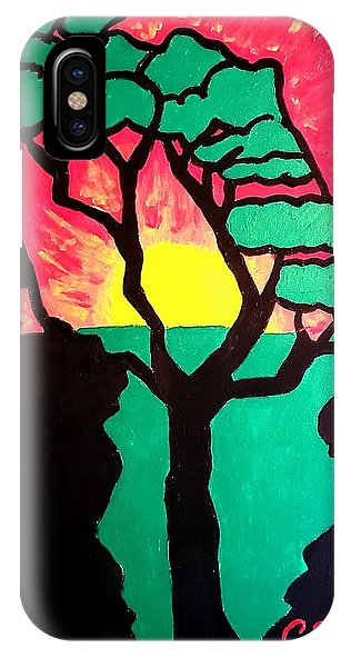 African Sunset  - Phone Case