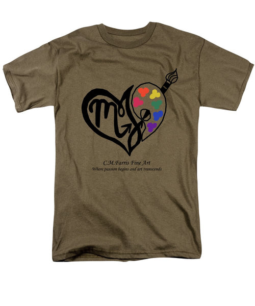 Men's T-Shirt  (Regular Fit) - Cmfarris Logo Brand