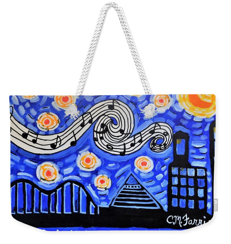 Weekender Tote Bag - Memphis Nights