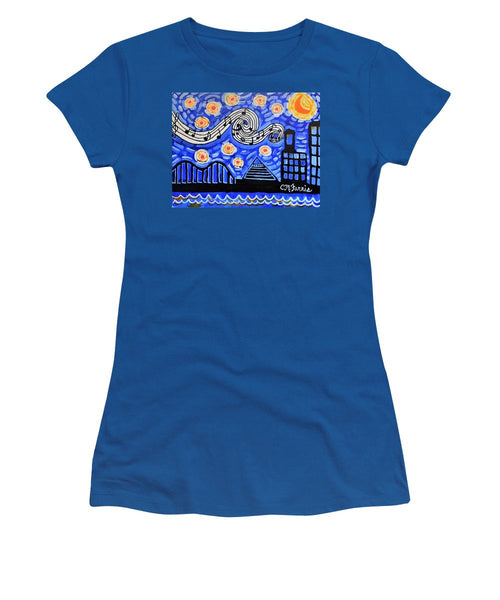 Women's T-Shirt (Junior Cut) - Memphis Nights