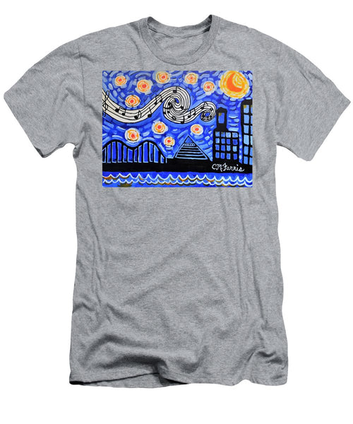 Men's T-Shirt (Slim Fit) - Memphis Nights