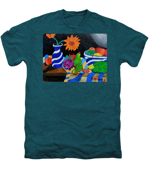 Fruitful Still Life - Men's Premium T-Shirt