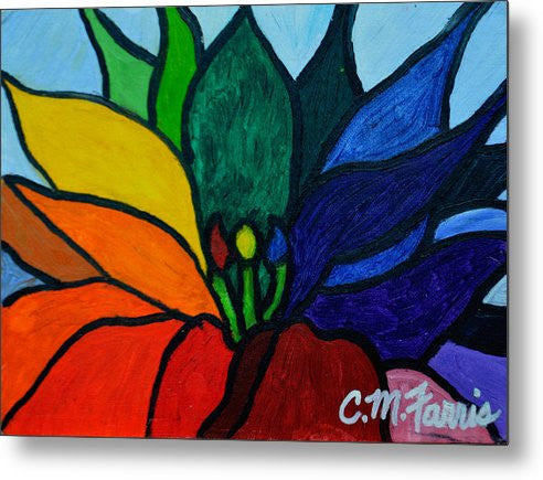 Lotus Flower 1 - Metal Print