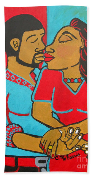 Lovers Embrace - Beach Towel