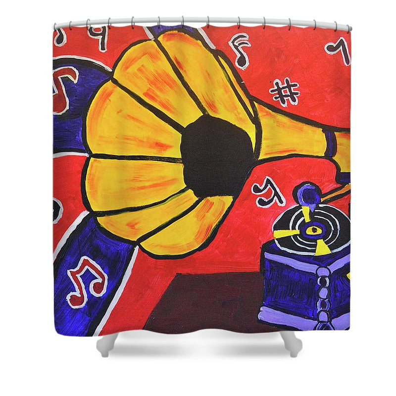 Shower Curtain - Music First