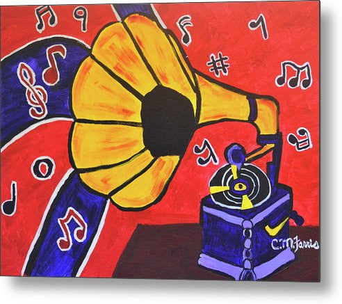 Metal Print - Music First
