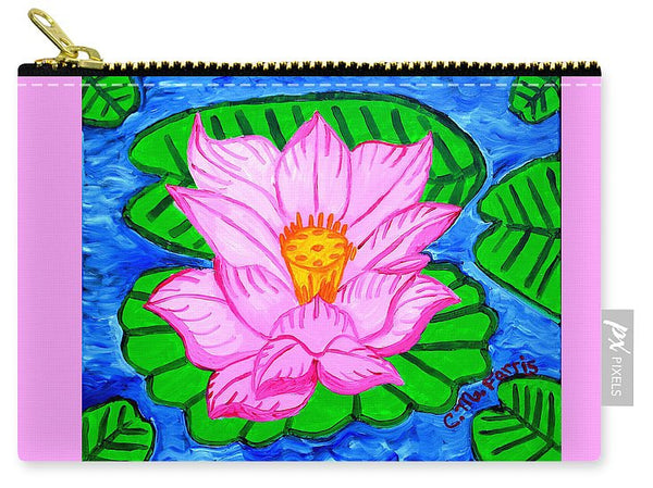 Pink Lotus Flower - Carry-All Pouch