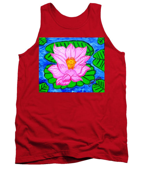 Pink Lotus Flower - Tank Top