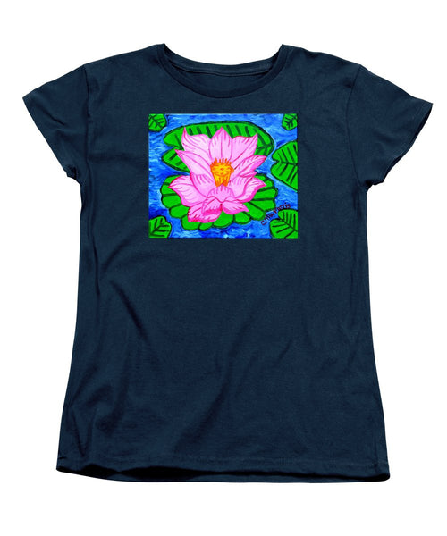 Pink Lotus Flower - Women's T-Shirt (Standard Cut)
