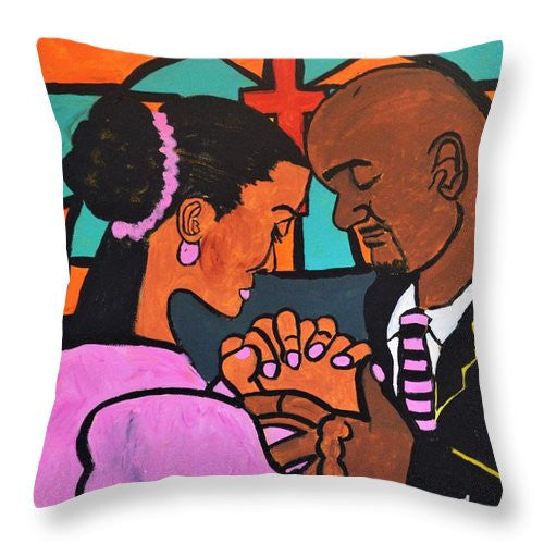 Throw Pillow - Power Of Prayer