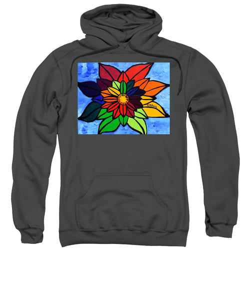 Rainbow Lotus Flower - Sweatshirt