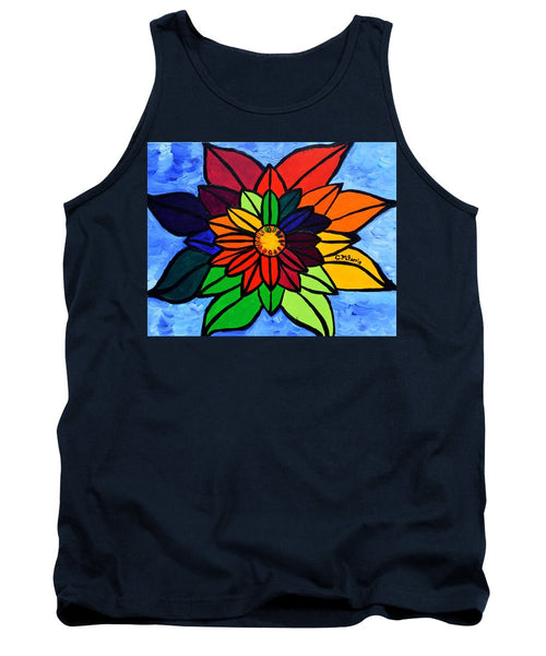 Rainbow Lotus Flower - Tank Top
