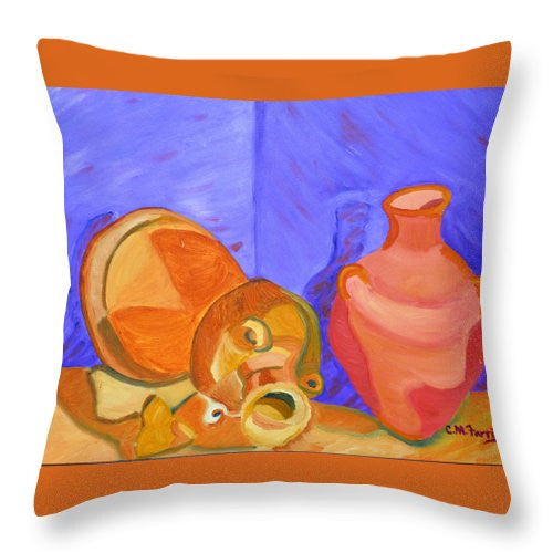 Terra Cotta - Throw Pillow