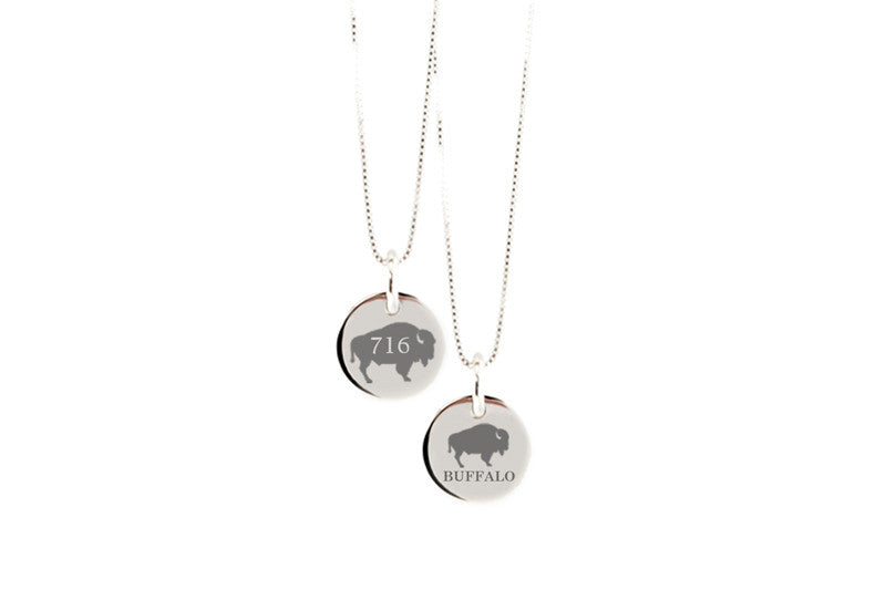 Classic Buffalo Round Necklace