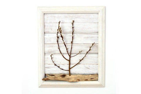 Dried Plant Wall Decor