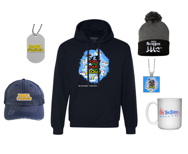 Hats - Hoodies - Accessories