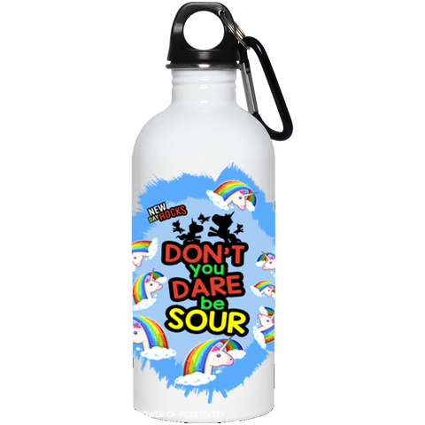 Don't Be Sour: Stainless steel water bottle, Bottle, Teeplex City