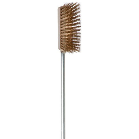 Alfa Pro - Brass Oven Brush - Roundhouse Pizza Ovens, Must Have Accessories - Roundhouse Pizza Ovens, Alfa Pro - Roundhouse Pizza Ovens, Roundhouse Pizza Ovens -  Roundhouse Pizza Ovens