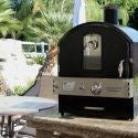 Pacific Living - Outdoor Countertop Gas Oven BLACK - Roundhouse Pizza Ovens, Countertop - Roundhouse Pizza Ovens, Pacific Living - Roundhouse Pizza Ovens, Roundhouse Pizza Ovens -  Roundhouse Pizza Ovens